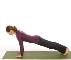 Hold in Stone Table a count of 3 good breaths, engaging the abdominals, head aligned with the body